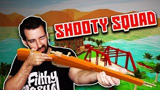 Gassy & Wildcat vs Nanners & Chilled! (Shooty Squad)