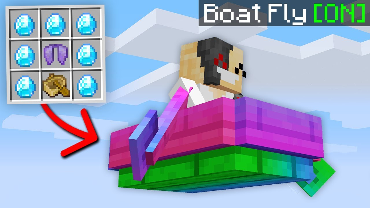 Minecraft, But You Can Craft Super Hacks...