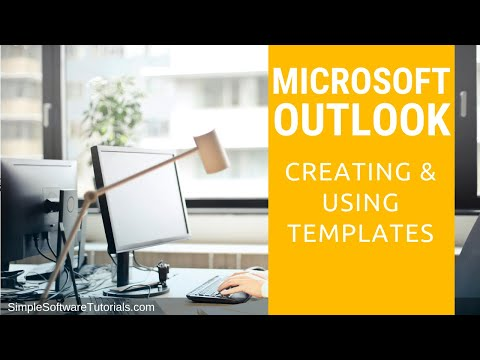 Tutorial: Creating & Using Templates in Outlook 2013