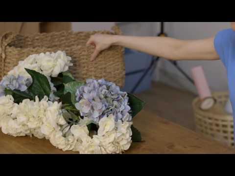 Craft Corner: A faux flower basket display