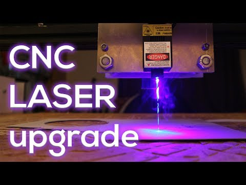 CNC LASER upgrade - on the CHEAP!