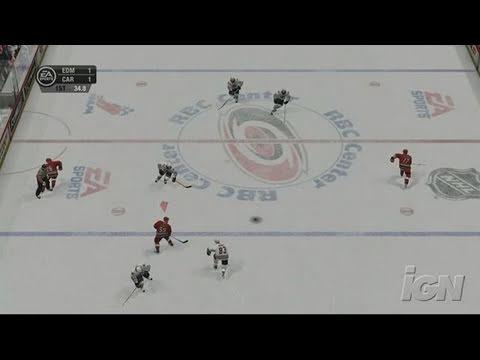 NHL 07 Xbox 360 Gameplay - Triple Deke