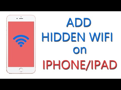 How to Add Hidden WiFi on iPhone/iPad/iPod