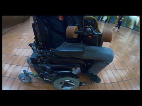 Delivering an electric wheelchair from San Francisco going to Oakland