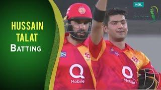PSL 2017 Match 17: Quetta Gladiators vs Islamabad United - Hussain Talat Batting