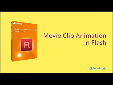 How To Create Movie Clip Animation in Flash CS6 Tutorial