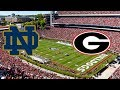 7 Notre Dame Irish Vs 3 Georgia Bulldogs College Football Live Play By Play And Reactions