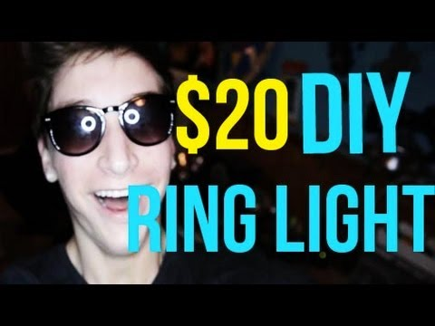 HOW TO: $20 DIY Ring Light Tutorial