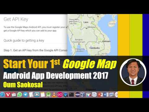 Latest Android App Development 2017: Start Your 1st Google Map