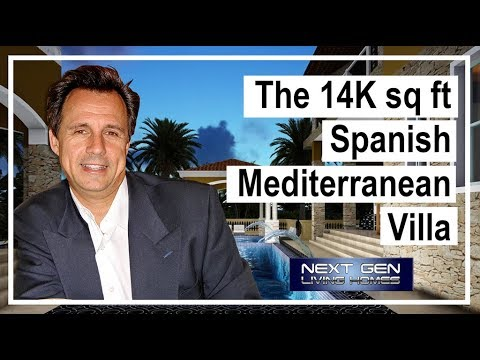 Spanish Mediterranean House Entry Master Bedroom final