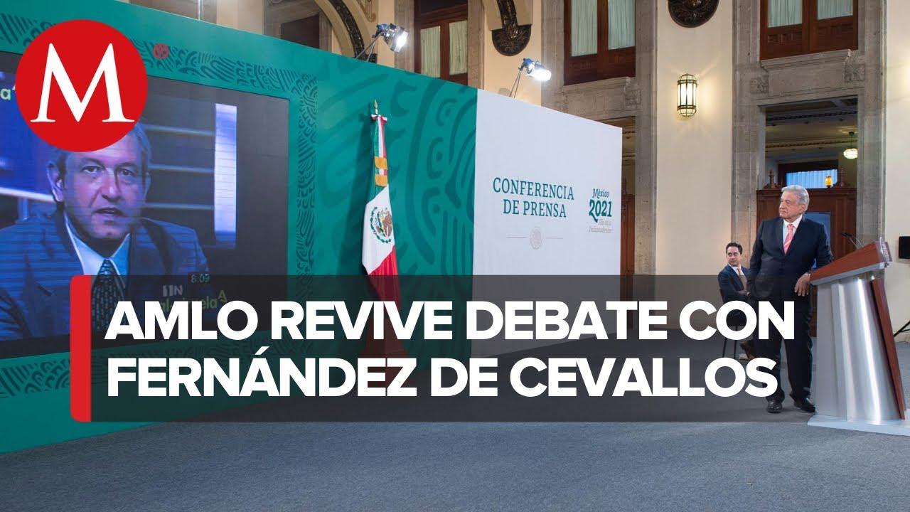AMLO exhibe debate con Diego Fernández de Cevallos tras su llegada a Twitter
