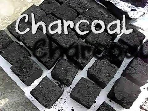 Making Charcoal briquettes