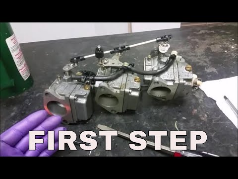 Mercury outboard running rough - Cleaning the carbs - Troubleshooting Part 1