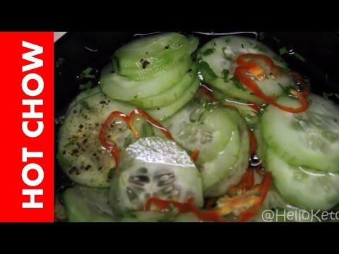 HOT Cucumber Chow - Trinidad