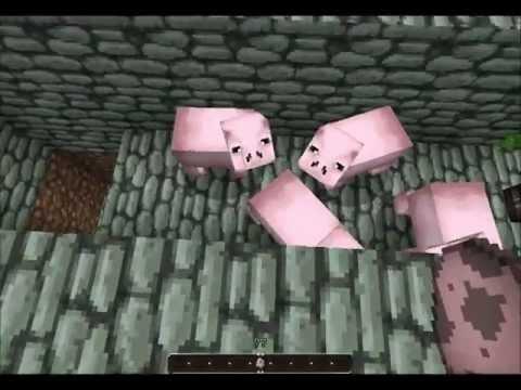 Minecraft Automatic Pork Cooker (Pork O Matic)