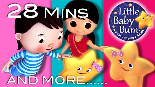 Twinkle Twinkle Little Star   Plus Lots More Songs   28 Minutes Compilation from LittleBabyBum!