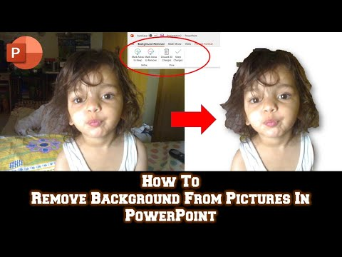 How To Remove Background From Pictures in Word / Excel / PowerPoint 2016 Tutorial