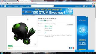 How To Get Dominus Empyreus For Free In ROBLOX Catalog,Q6UUP