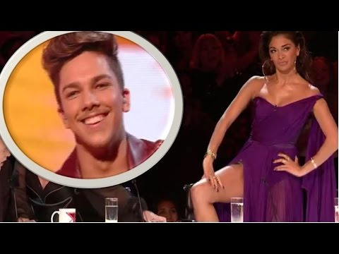 Matt Terry: Nicole Flirts & FLASHES Her Underwear To Her LOVER | Live Shows | The X Factor UK 2016