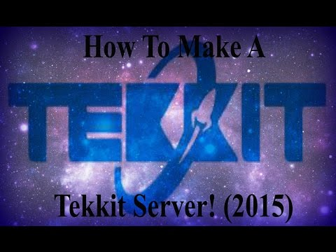 How To Make A Tekkit Server With Port Forward - Mac - No Hamachi (2016)