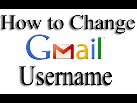 How to Change Your Username On Gmail 2015 In Hindi/urdu
