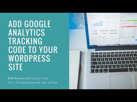 Add Google Analytics Tracking Code to your WordPress Website