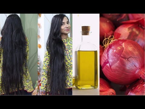 Onion Oil | How To Get Very Long and Thicken Hair Fast and Naturally | Onion Hair Growth Treatment