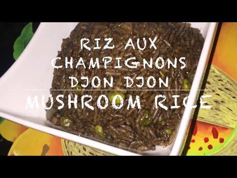 How to cook: Riz aux champignons Djon Djon - Haitian Black Mushroom Rice