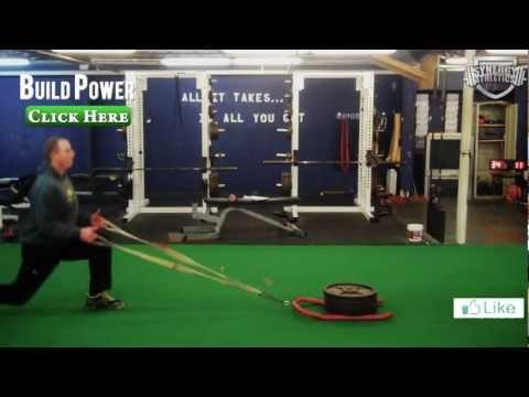 16 Leg Building Sled Exercises