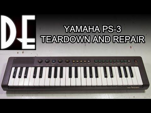 Yamaha PS-3 - Teardown and Repair