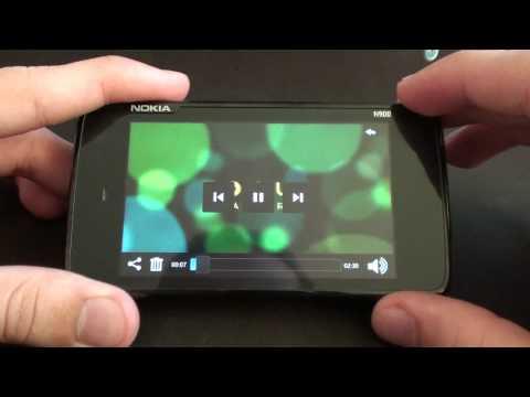 Nokia N900 PR 1.2 - odtwarzacz