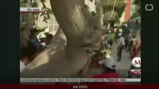 Massive earthquake rocks Mexico City