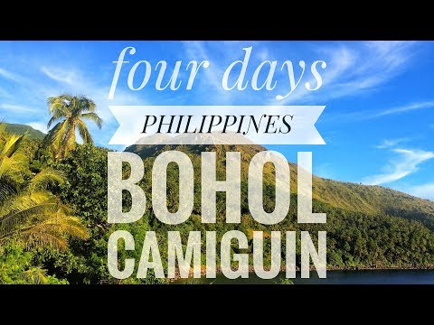 Four Days in Bohol and Camiguin, Philippines