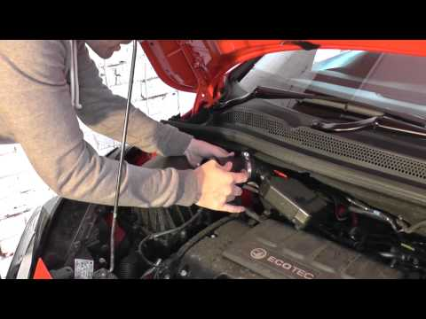 Vauxhall Opel Corsa E MAF Removal & Refit Guide