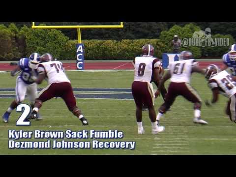 Duke Football: Top Plays vs. NCCU