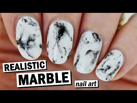 How To Create Realistic Marble Nails - Super Easy! | Nailed It NZ