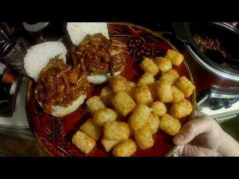 Crock Pot Freezer Meals- BBQ Pulled Pork Part 2-The Finished Meal!!!