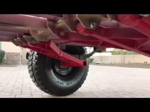 Off Road Trailer in progress build Trailing Arms 4 ton cap