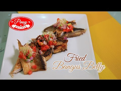 Fried Bangus Belly Pinoy Recipe : How to cook Fried Bangus Belly | Pinoy Recipes