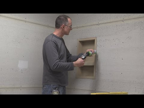 Installing a Noble Niche in a Tile Shower