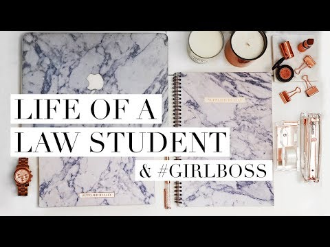 MY LIFE AS A US LAW STUDENT + #GIRLBOSS  | DC Diaries #5