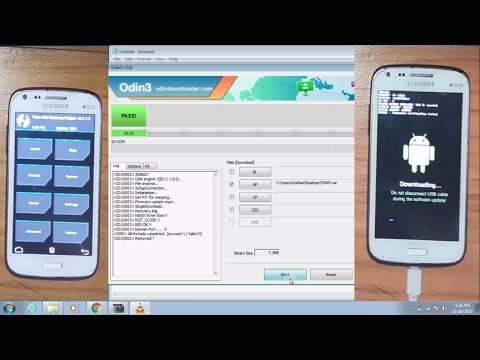 How To Install/Flash Custom Recovery TWRP/CWM/Philz On Samsung Using Odin | Official Method