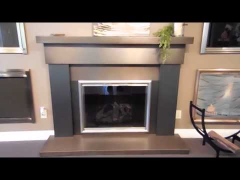 Obadiah's: 1600 Series Wood Stove - Custom Fireplace Mantel & Surround