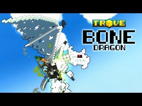 UNDEAD REPTILE! The Bone Dragon - Trove