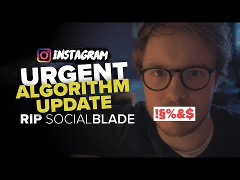 the beginning of the end? - INSTAGRAM ALGORITHM UPDATE APRIL 2018