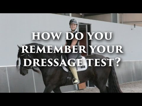 Competition Mastery TV - Remembering Your Dressage Test