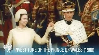 Prince Charles: Investiture of the Prince of Wales aka POW (1969) | British Pathé