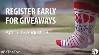 Early Registration Giveaway