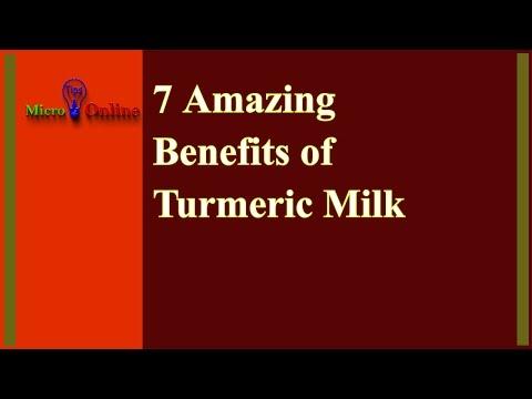 7 Amazing Benefits of Turmeric Milk | Health Benefits of Golden Milk