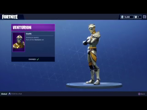 FORTNITE STORE UPDATE 5/19/18 NEW SKIN VENTURION SUPER HERO IS A MUST HAVE LOOKS GOOD